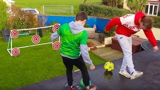 ROOFTOP FORFEIT FOOTBALL CHALLENGE VS WROETOSHAW!!