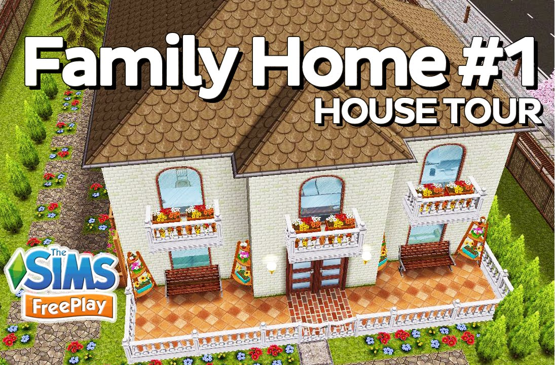 The Sims Freeplay   Family Home (Original Design)   YouTube