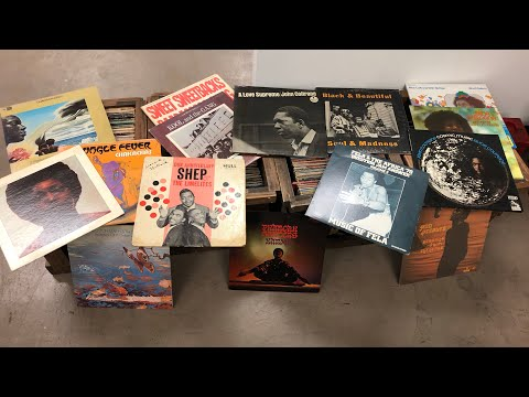 I Bought a Record Collection #19: 500 Rare Jazz, Funk & Soul Vinyl Records.