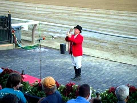The Call to the Post - Saratoga Race Course 2010