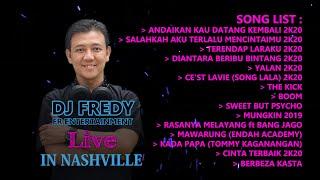 "Download DJ FREDY FR ENTERTAINTMENT LIVE IN NASHVILLE #18 ""BreakBeatBorneo"""