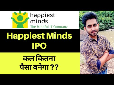 Happiest Minds IPO review II Listing price & Allotment II Stock Analysis II Super Trader Lakshya