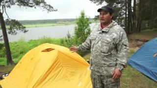 Обзор туристических палаток Нова Тур  Легкие прочные палатки