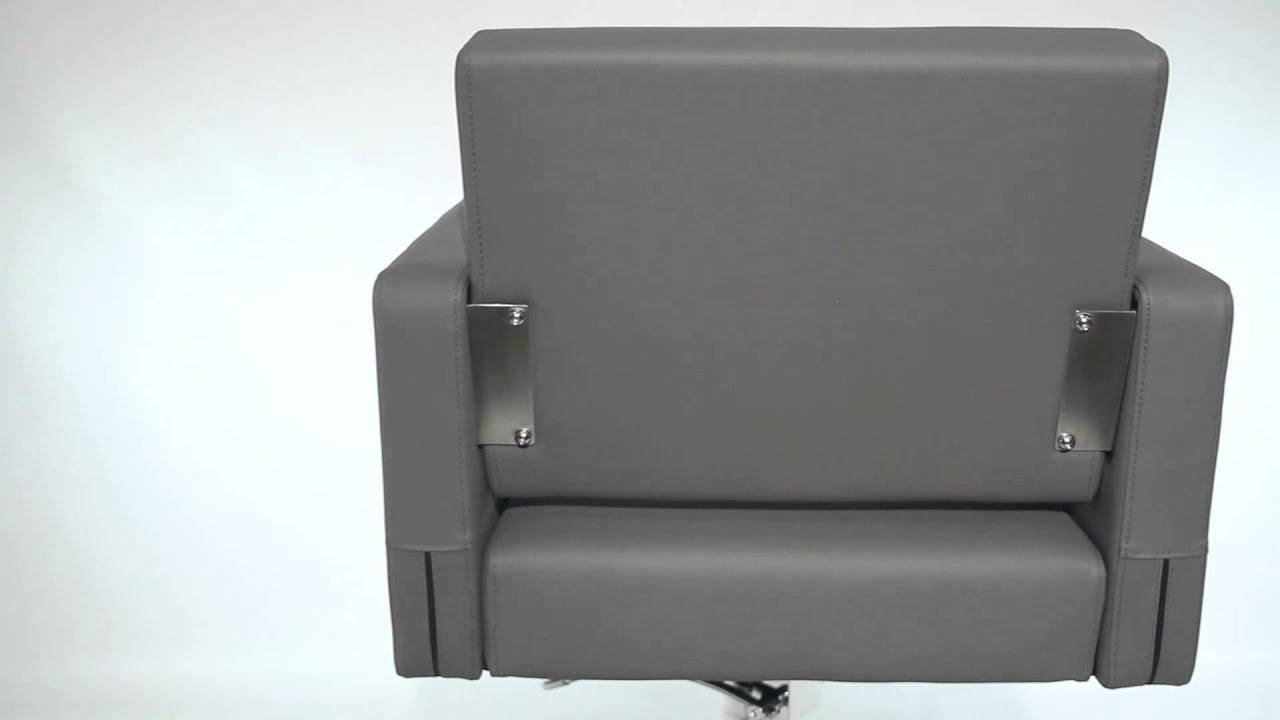 Avant Styling Chair In Grey | Minerva Beauty
