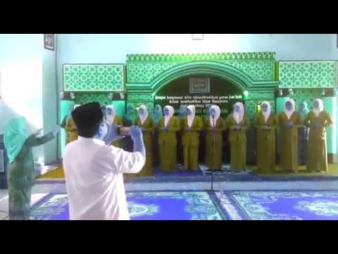 Sholawat Nahdhiyah Fatayat N Muslimat NU Ancab Tapen Bondowoso. Pembukaan Konfrensi MWC Nu Tapen