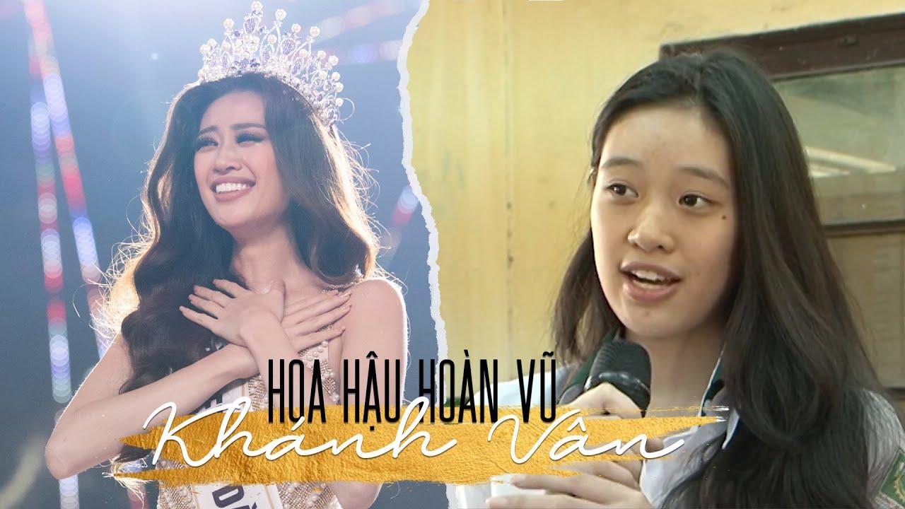 Hoa hậu hoàn vũ Khánh Vân lộ nhan sắc thật thời còn học trung học phổ thông
