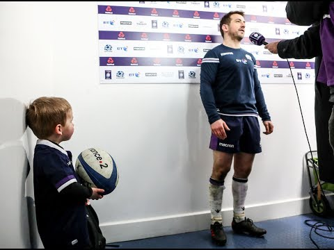 Gregor Townsend on Greig Laidlaw's performance | NatWest 6 Nations