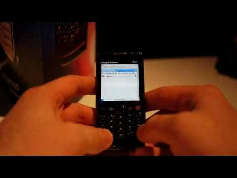 Blackberry Pearl 3G hand-on