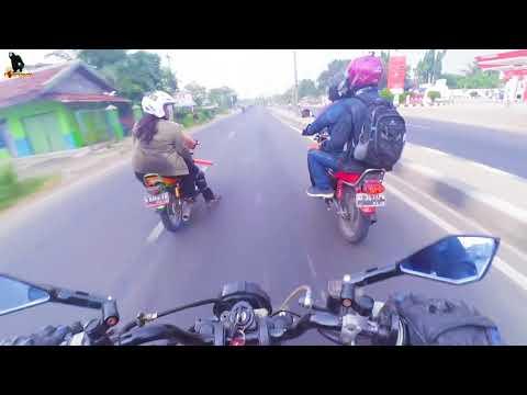BEGINILAH SESAMA PENUNGGANG RX KING KALAU BERTEMU DI JALAN