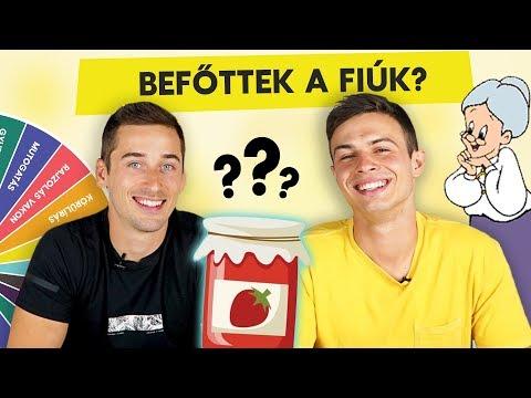 BEFŐTTEK A FIÚK? Nagy Dani és Zozo Kempf a Rápörögve játékban | Játsszuk le!