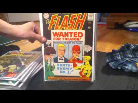 Silver age comic book collection