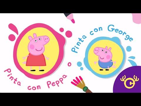 Peppa Paintbox - Pintando Con Peppa!