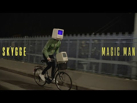 SKYGGE - Magic Man (Official Music Video) / composed with AI