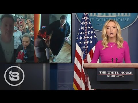 Press Sec. TRIGGERS Media Into Silence As She Plays Video of Democrat COVID-19 Hypocrisy