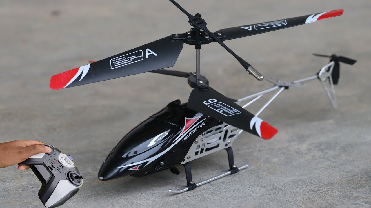 Swift s2 new black  rc helicopter unboxing and fly test