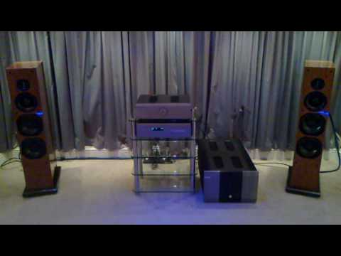 ProAc Carbon 8 Loudspeakers and Musical Fidelity AMS100 Power Amp