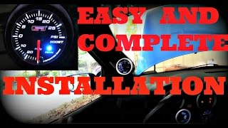 how to install a turbo boost gauge or vacuum gauge(IF YOU LIKE THIS VIDEO GO TO MY CHANNEL I HAVE MORE VIDEOS THAT MIGHT HELP YOU AND REMEMBER TO SUBSCRIBE THANK YOU SO MUCH ..., 2015-05-28T01:10:22.000Z)