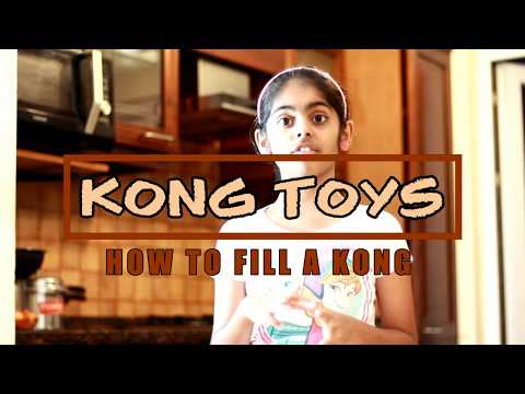 How to stuff a kong toy with peanut butter, dog treats, kibble and more - Kong Recipes