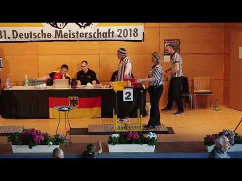 Deutsche Meisterschaft 2018 // Newcomerklasse -80kg / +80kg - Links Teil 4 Finale