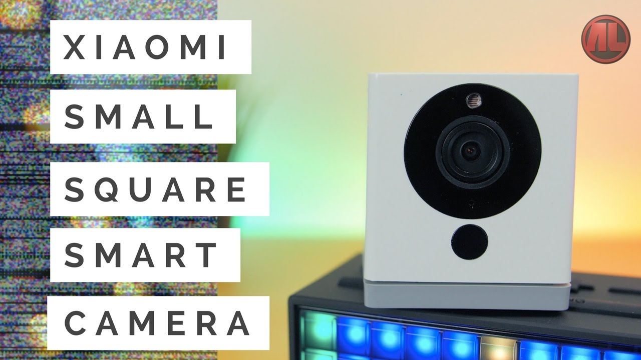 Xiaomi Small Square Smart Camera (Mijia Mi Xiao Fang) Review & Setup Guide - English