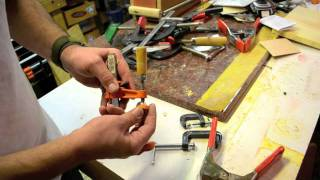 Clamps For Your Guitar Projects Luthier Tool Review
