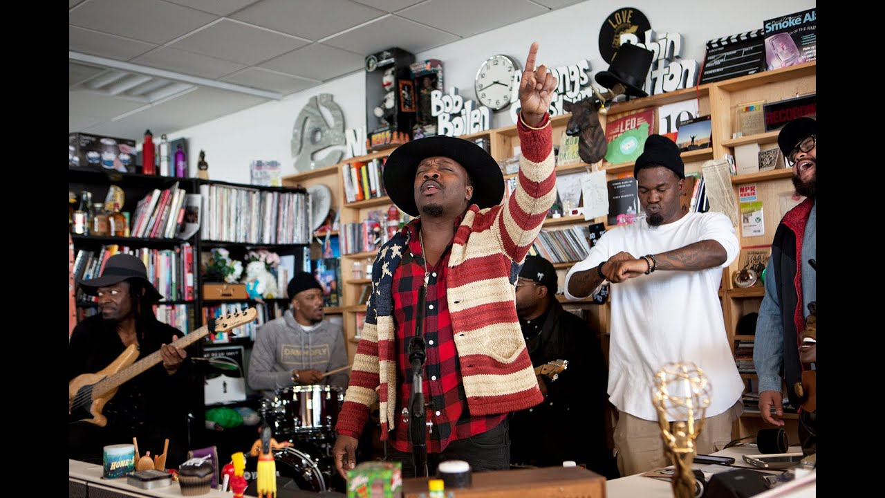 Anthony Hamilton | NPR Music Tiny Desk Concert
