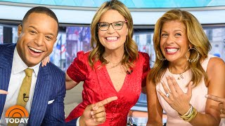 Hoda Kotb Is Engaged! See Her Live Announcement (And The Ring) | TODAY
