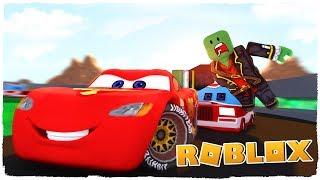 👉 SAVING RAYO MCQUEEN! - CARS 3 IN ROBLOX