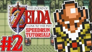 Zelda A Link to the Past Speedrun Tutorial Part 2 - TFS Plays