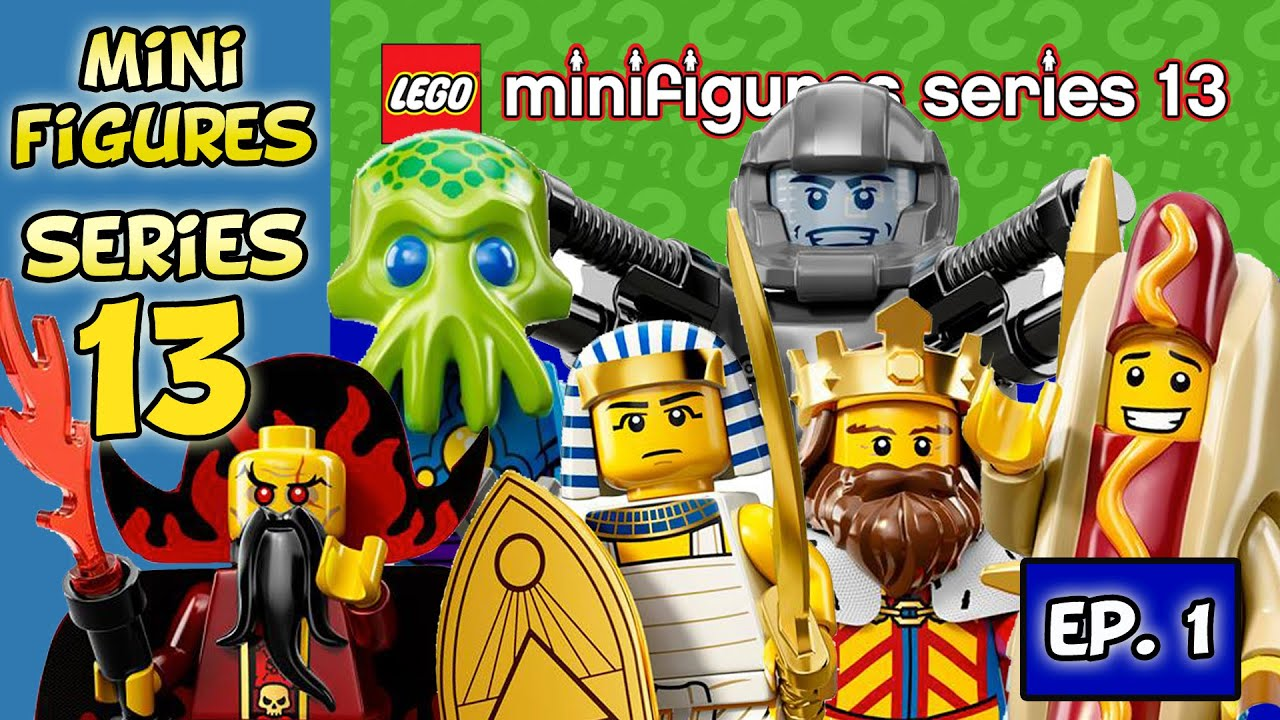 4 Lego Minifigures Series 13 Blind Bags And Bump Codes Ep