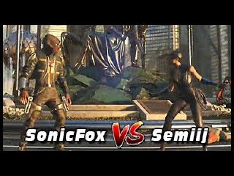 Thumbnail: Injustice 2: Pro Series Finals - G. Final - SonicFox (Red Hood) Vs Semiij (Catwoman)
