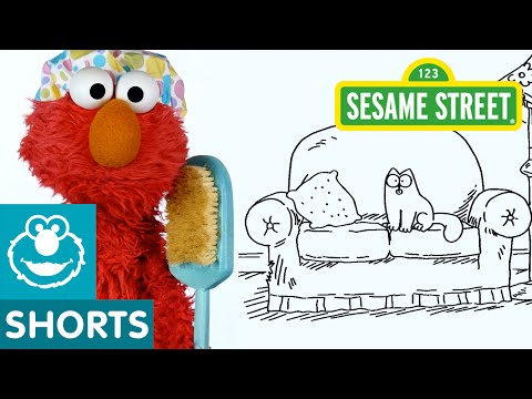 Sesame Street: Simon's Cat And Elmo Take A Nap!
