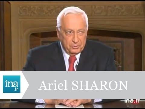 Interview exclusive d'Ariel Sharon à Paris - Archive INA