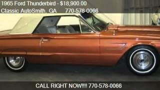 1965 Ford Thunderbird  - for sale in Marietta, GA 30068