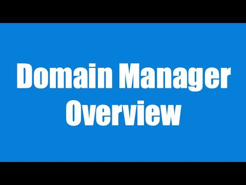 Overview of the Domain Manager in BlueHost