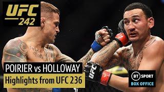 Max Holloway vs Dustin Poirier II (full fight highlights) | UFC 236