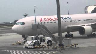 Boeing 767, Orient Thai Airlines (HS-BKD), Bangkok Suvarnabhumi Airport BKK