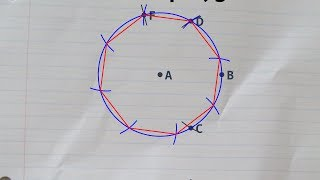 Constructing a regular octagon with straightedge and compass, inside a given circle