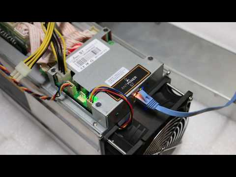 Antminer S7 4.73T Bitcoin Miner Test Video