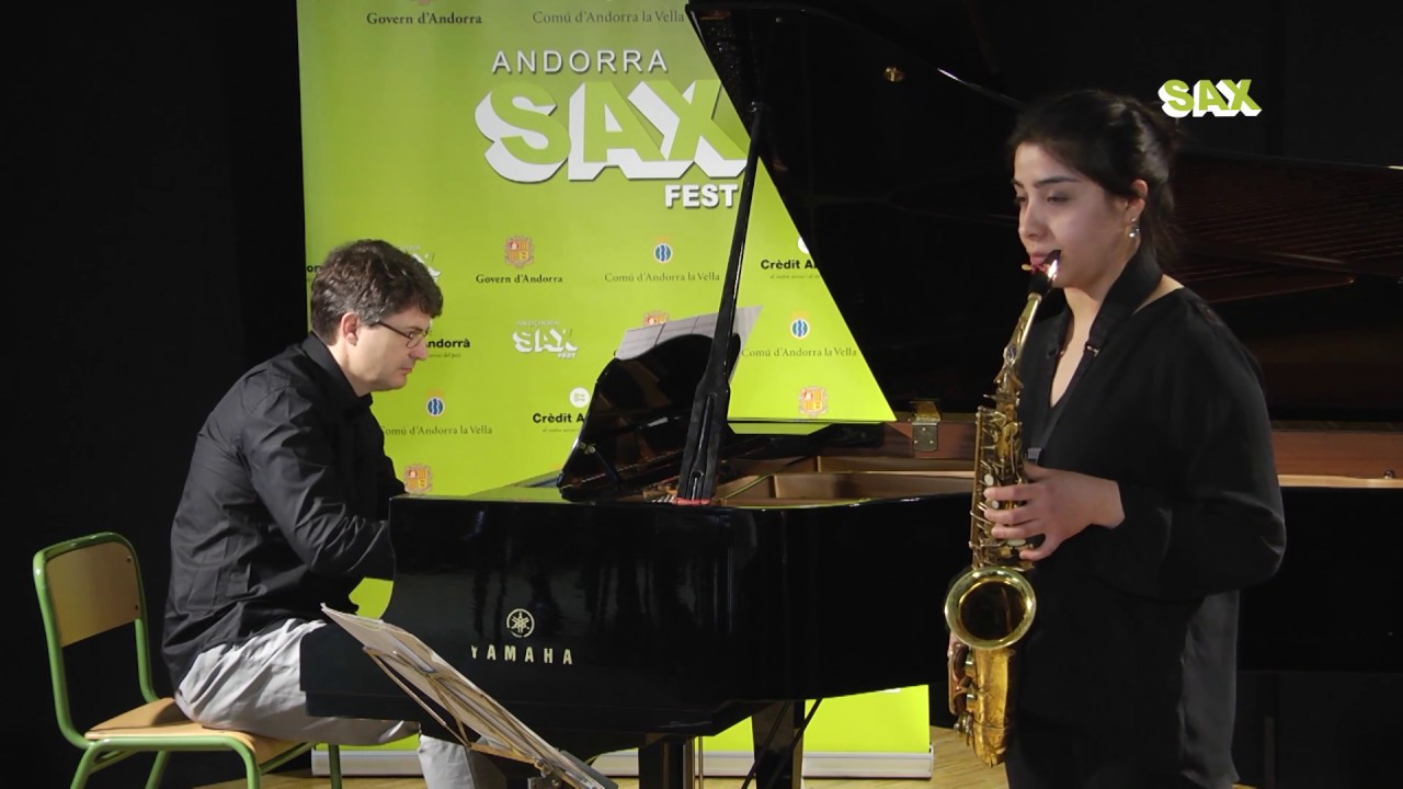 DEBORA NANCUPIL - 1st ROUND - V ANDORRA INTERNATIONAL SAXOPHONE COMPETITION 2018