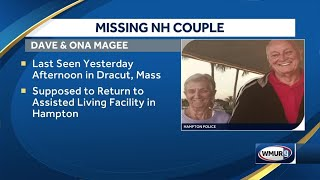 Police seek help to find missing NH couple (Update: The couple has been safely located)