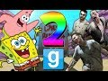 SPONGEBOB VS ZOMBIES 2 |  Gmod Sandbox ZOMBIE OUTBREAK IN BIKINI BOTTOM