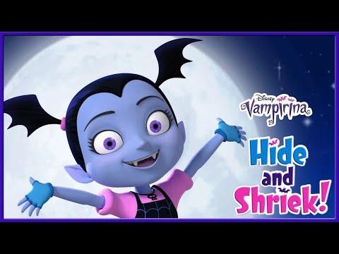 Vampirina Tv Show! Hide and Shriek Game - Disney Junior App For Kids