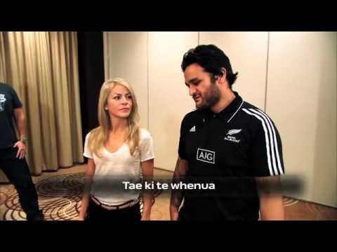TSN SportsCentre: Haka with the Maori All Blacks & Toronto Argonauts