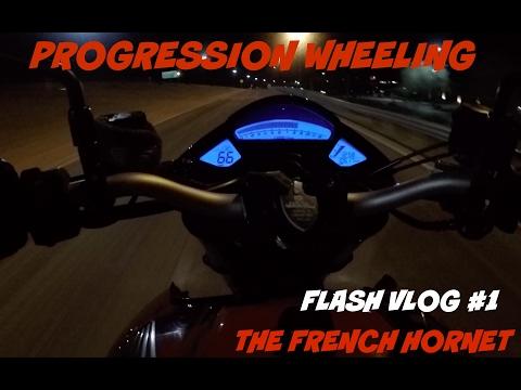 PROGRES WHEELIES!  THE FRENCH HORNET