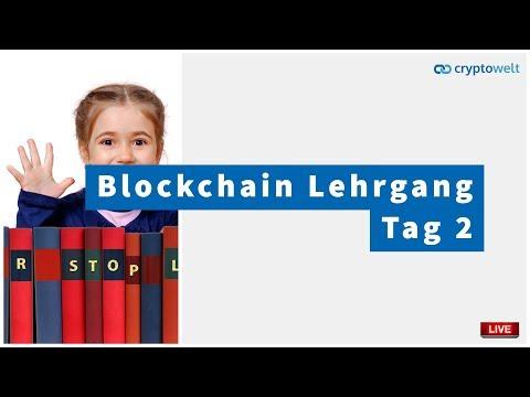 Blockchain Manager Lehrgang - Tag 2 - Was sind Hashwerte?