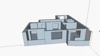Как упростить просчет смет?? План квартиры в SketchUp