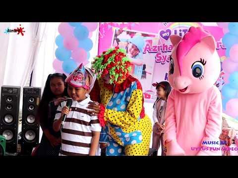 Bermain Di Ulang Tahun Ara Bersama Badut My Little Pony - Part 1