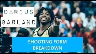 Darius Garland Basketball Shooting Form Breakdown| JP Productions