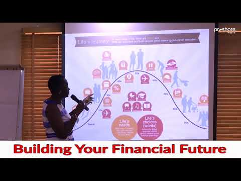 "Building Your Financial Future - ""The New Disruptors"" - Alero Awoyemi, ED, Proshare Foundation"